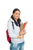 Smiling student woman Royalty Free Stock Image