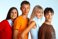 Smiling students Stock Image