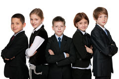 Smiling students Stock Images