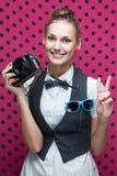 smiling stylish teenager Royalty Free Stock Photo
