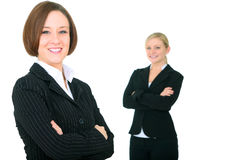 Smiling Successful Businessteam Stock Photography