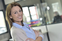 Smiling successful businesswoman Royalty Free Stock Image
