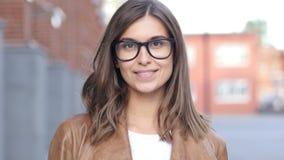 Smiling Successful Female Designer, Portrait Outside Loft Office