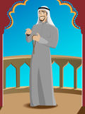 Smiling Successfull Arabic Man Stock Image