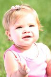 Smiling Summer Baby Girl Stock Image