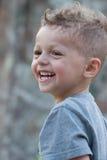 Smiling summer boy Stock Image