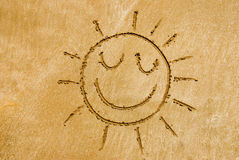 Smiling sun Stock Photography