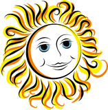 Smiling Sun Stock Images