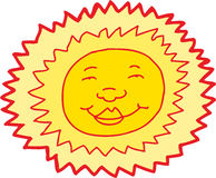 Smiling Sun Avatar Stock Photos