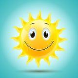 Smiling Sun Royalty Free Stock Image