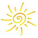 Smiling sun Stock Photography