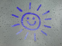 Smiling sunshine Stock Image