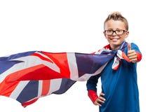 Smiling superhero thumbs up Royalty Free Stock Photos