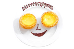 Smiling Tart Stock Photos