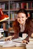 Smiling teacher royalty free stock image