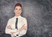 Smiling teacher Royalty Free Stock Photo