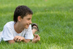 A smiling teen Royalty Free Stock Photography