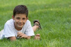 A smiling teen Royalty Free Stock Images