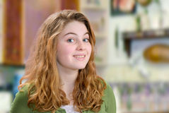 Smiling Teen Stock Images