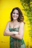 Smiling teen Stock Photo