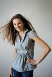 Smiling teen Royalty Free Stock Images