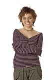 Smiling teen Royalty Free Stock Photos