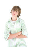 Smiling Teen boy Royalty Free Stock Photos