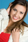 Smiling Teen Girl Stock Images