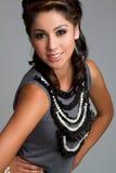 Smiling Teen Girl. Beautiful smiling teen fashion girl royalty free stock image