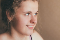 Smiling Teen Girl Royalty Free Stock Photography
