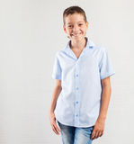 Smiling teen. Happy boy Stock Images