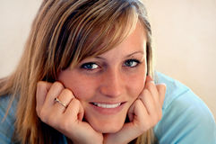 Smiling teen portrait Royalty Free Stock Image