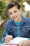 Smiling teen student Royalty Free Stock Photography