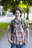 Smiling Teenage Boy Royalty Free Stock Images