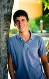 Smiling teenage boy Stock Photography