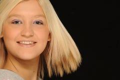 Smiling teenage girl Stock Photos