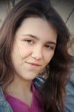 Smiling teenage girl Royalty Free Stock Images