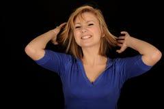 Smiling teenage girl Stock Photography