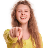 Smiling teenage girl Stock Photo