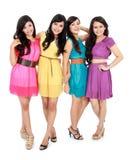 Smiling teenage girls Royalty Free Stock Photo