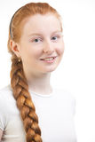 Smiling teenage portrait Royalty Free Stock Photos