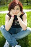 Smiling Teenager royalty free stock image