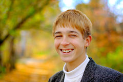 Smiling teenager Royalty Free Stock Photos