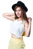 Smiling teenager asian girl Stock Image