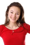 Smiling teenager girl Stock Photos