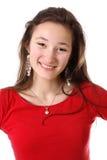 Smiling teenager girl Stock Photos