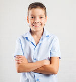 Smiling teenager at school Royalty Free Stock Photo