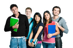 Smiling Teenager Students Royalty Free Stock Photos