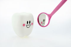 Smiling teeth toy Royalty Free Stock Photo