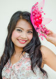 Smiling Thai girl Royalty Free Stock Photography